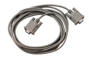 Kabel RS232 s null modem